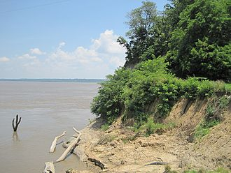 Chickasaw Bluff - Second Chickasaw Bluff in Tipton County