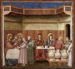 Wesele W Kanie Fresk Giotta Wikipedia Wolna Encyklopedia