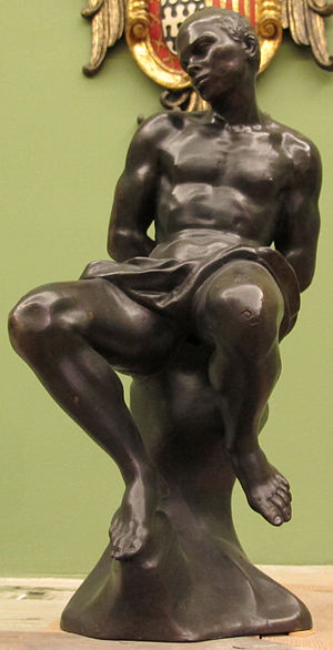 Giovanni Battista Foggini - Chained captive, Africa by Foggini