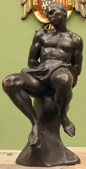 Giovanni Battista Foggini - Chained captive, Africa by Foggini