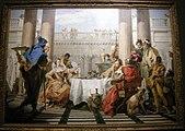 Giovanni Battista Tiepolo, banchetto di cleopatra, 1743-44.JPG