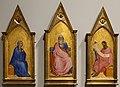 Giovanni da milano, cristo apocalittico, maria e san giovanni, 1364-66, 01.jpg