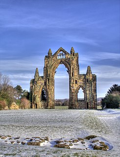 Gisborough Priory Ruined Augustinian priory in Guisborough, North Yorkshire, England