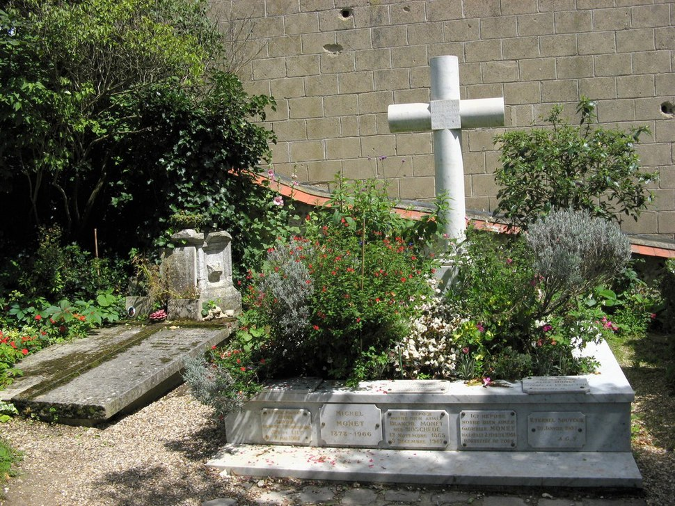 Giverny, Claude Monet Grave - panoramio