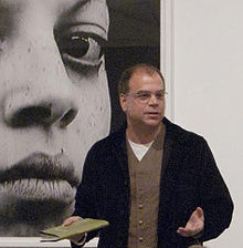 Peter Gizzi reading in 2011, in LA.