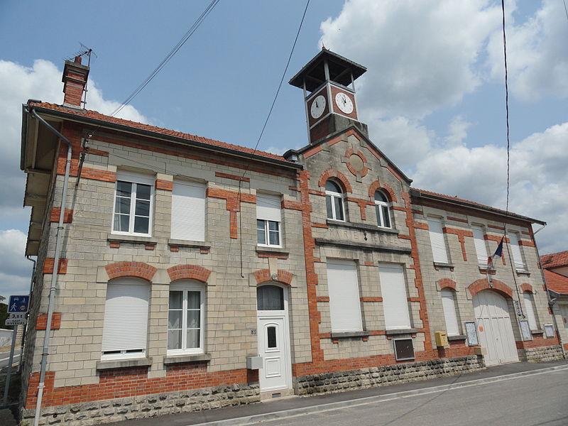 La Mairie de Glannes (Marne).