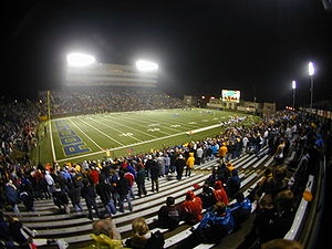Bowling Green–Toledo football rivalry - The Glass Bowl, home to the Rockets since 1937