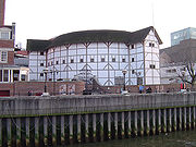 Reconstructed Globe theatre, London.