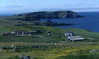 Gloup Human settlement in Scotland
