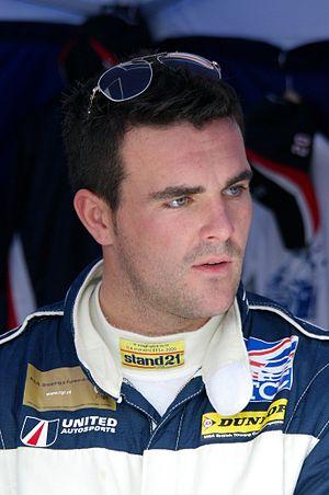 Glynn Geddie - Geddie at the Brands Hatch Indy round of the 2014 British Touring Car Championship season.