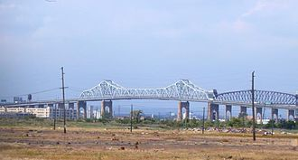 Goethals Bridge - The Original Goethals Bridge, seen from Staten Island in 2004