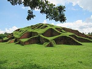 Chand Sadagar - Ruins claimed to be Lakshmindara-Behula's bridal chamber, near Bogra in Bangladesh