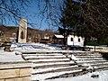 Golemo Malovo monument and church All Saints.jpg