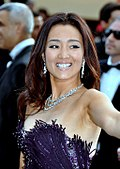 Photo of Gong Li at Cannes Film Festival in 2011.