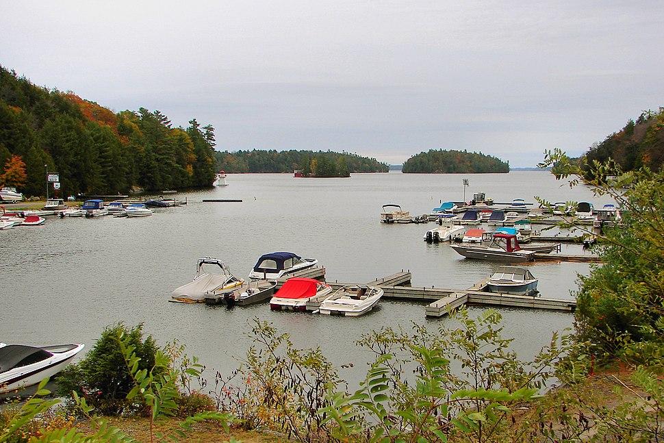 Gordon Bay on Lake Joseph