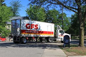 Gordon Food Service - GFS delivery truck, Ann Arbor, Michigan
