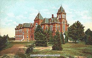 Gorham, Maine - Corthell Hall at U.S.M., built in 1878, designed by the noted Portland architect Francis H. Fassett, c. 1904