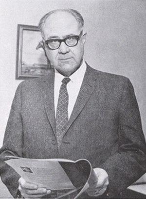 Frank B. Morrison - Gov. Frank Morrison, 1961