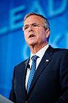 Governor of Florida Jeb Bush at Southern Republican Leadership Conference, Oklahoma City, OK May 2015 by Michael Vadon 146.jpg