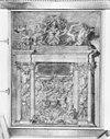 grafmonument tromp, tekening in bezit van gemeente archief delft - delft - 20049469 - rce