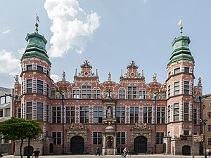 1600s in architecture - Image: Gran Armería, Gdansk, Polonia, 2013 05 20, DD 12