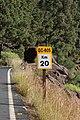 Gran Canaria Barranco de Mogán GC 605 Road Sign km20 (MGK17496).jpg