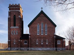 Granby, Quebec - St. George's Anglican Church.