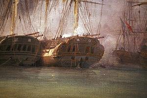 French frigate Minerve (1809) - Image: Grand Port mg 6975