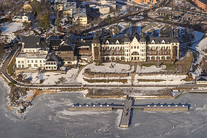 Grand Hotel Saltsjöbaden - Grand Hotel Saltsjöbaden in February 2013