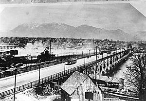 Granville Street Bridge - Image: Granville Street Bridge 1909