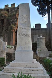 Grave of Peter Andreas Munch at Cimitero acattolico Rome.jpg