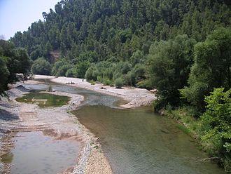 Erymanthos (river) - Image: Grecia 114 fiume Erimanto 6
