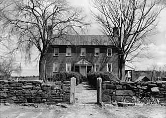 Campbell County, Virginia - Main house, Green Hill Plantation, Campbell County, Historic American Buildings Survey