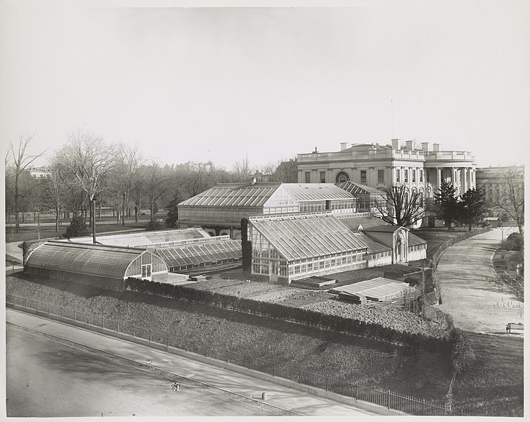 File:Green houses, White House, Washington, D.C. LCCN2012646240.jpg