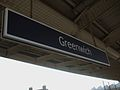 Greenwich station mainline signage.JPG