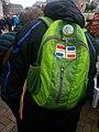Groninger flag green backpack, Groningen (2018).jpg