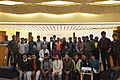 Group photo of Bengali Wikipedians at Wikipedia 15 celebration in BSK (03).jpg