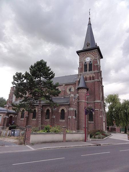 Grugies (Aisne) église Saint-Martin