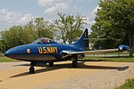 Grumman F9F-5 Panther - US Navy Blue Angels (26311678539).jpg