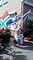 Grunnegs Houkje Groninger flags on display, Blijham (2020) 02.jpg