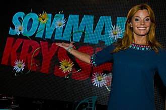 Sommarkrysset - Show host Gry Forssell