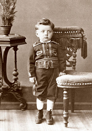 Calouste Gulbenkian - Calouste Gulbenkian at age three