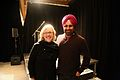 Gurdeep Pandher with Elizabeth May, Leader of the Green Party of Canada and Member of Parliament .jpg