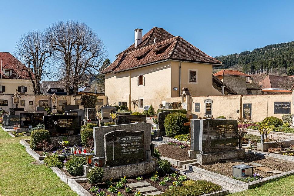 Gurk Domplatz 1 Friedhof mit Vorwerk-Stöckl SO-Ansicht 27032017 7095