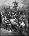 Gustave Dore - Jesus is nailed to the cross.jpg