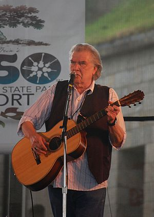 Guy Clark - Clark at the 2009 Newport Folk Festival