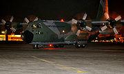 Hércules C-130 pousando