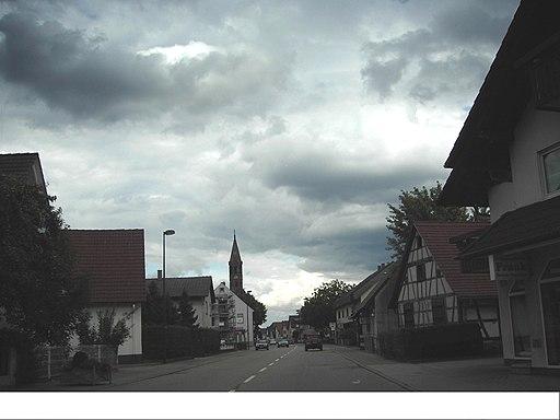 Hügelsheim Hauptstraße (B36)