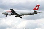 HB-IJL A320 Swiss (14764669396).jpg