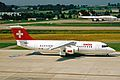 HB-IYW B.Ae 146-RJ100 Swiss Intl Al ZRH 19JUN03 (8548460652).jpg